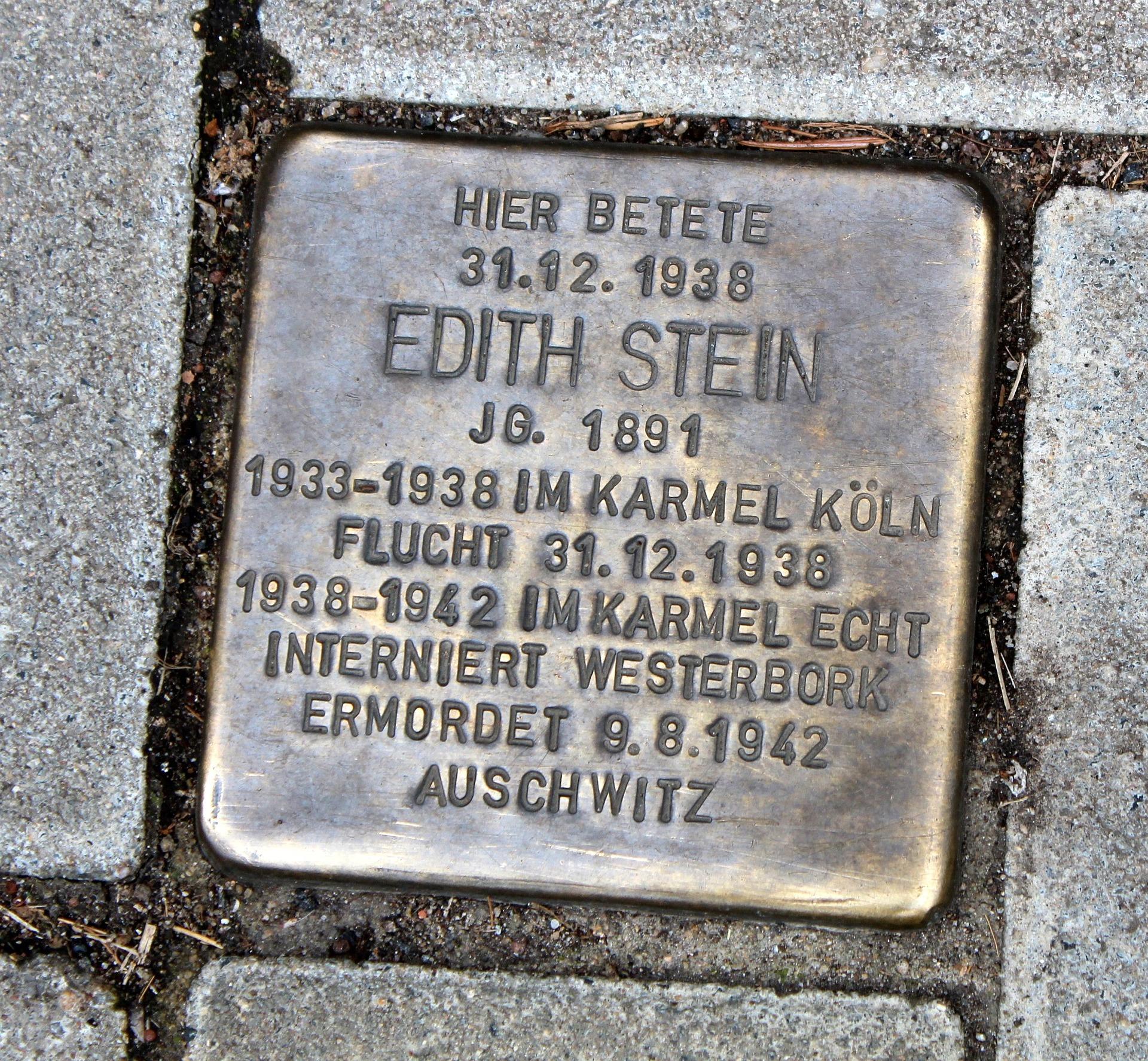 Kamień pełen mądrości, czyli kilka słów o Edycie Stein